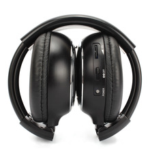 2 pcs/lot Infrared Stereo Wireless Headphones Dual channel IR Cordless Headsets for Car roof DVD or Headrest DVD player