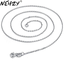 NEHZY Silver necklace Ms. silver color retention of high-quality fashion jewelry manufacturers, wholesale 45CM(China)