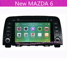 Free Shipping Car DVD Player For New MAZDA 6 With Gps Navigation Radio BT IPOD TV Free Maps