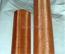 200 mesh (85%--90%copper) copper wire mesh/copper wire cloth for EMI/EMF shielding 1m*5m --free shipping