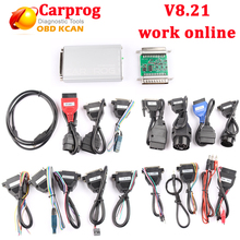 2017 Carprog 8.21 work online better than carprog v9.31 full set Carprog V8.21 ECU Programmer Auto Repair Airbag Reset Tools