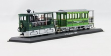 Free Shipping Static car models 1:87 Atlas Zurich G3/3 (SLM) - 1894 City Tram train model zakka home decoration not a toy