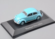1/43 Scale Volkswagen Fusca 1961 Edition Car Truck Diecast Car Display Model Vehicles brinquedos Collectible boys Gifts