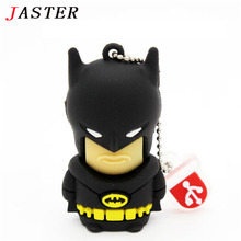 JASTER batman usb flash drive pendrive 4gb 8gb 16gb 32gb 64gb memory stick U disk gift pen drive origian super hero