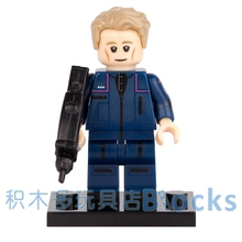 Single Sale Movie Star Trek Captain Chief engineer Enterprise SUPER HEROES minifig STAR WARS DIY Building Blocks Kids Toy Gift