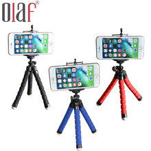 Olaf Car Phone Holder Flexible Octopus Tripod Bracket Selfie Stand Mount Monopod Styling Accessories For Mobile Phone Camera