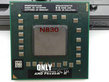 AMD phenom N830 CPU HMN830DCR32GM Socket S1 (S1g4) 2.1G processor for laptop notebook triple core(China)