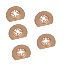 5pcs/set 63mm Diamond Titanium Saw Blade Oscillating Multi Tool For Fein Multimaster For Bosch Power Tool Home DIY