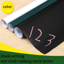 4Sizes PVC Waterproof Blackboard Sticker White Green Black Board Stickers Removable Chalkboard School Office Tools Supplies Home(China)