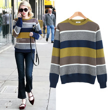 2017 Promotion Half Women Sweater Big Yards Fat Mm Autumn New Bump Is In Base Sweater 200 Jins Of European And American Brands(China)