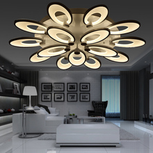 110v 220v Acrylic Led Ceiling Lamp Led Light Room House Lighting Fixtures Focos Led Techo Lamba Room Lamp Iluminaria Petard 02