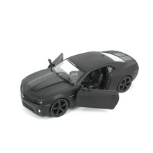 1:36 Licensed Diecast Metal Scale Car Model For The Chevrolet Camaro Collection Alloy Model Pull Back Toys Car - Matte Black