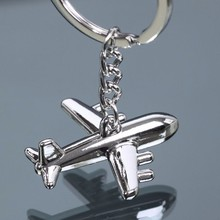 Wholesale 12pcs/lot alloy American Airlines aircraft key chain fashion keyring Unique plane key chain for Men Women Jewelry Gift