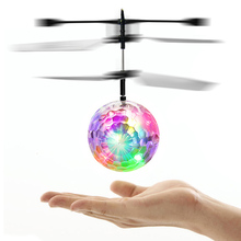 Magic Hand Induction Bird Electronic Aircraft Flash Remote Control Helicopter Frisbee Toy Children Toys Induction Vehicl FJ88