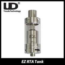 Original UD EZ RTA Atomizer 4ml Top Filling RTA Tank Electronic Cigarette Support Single Coil/ Dual Coil Double U air intake