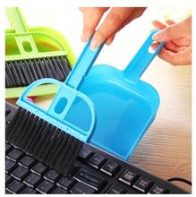 2016 Limited New Hand Makeup Brush Cleaner G Mini Desktop With A Small Broom Dustpan Sets Keyboard Cleaning Brush Shovel Even