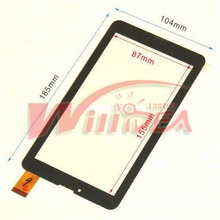 "Free Film + New Touch screen Digitizer 7"" inch oysters T72 3g Tablet Outer Touch panel Glass Sensor replacement FreeShipping"
