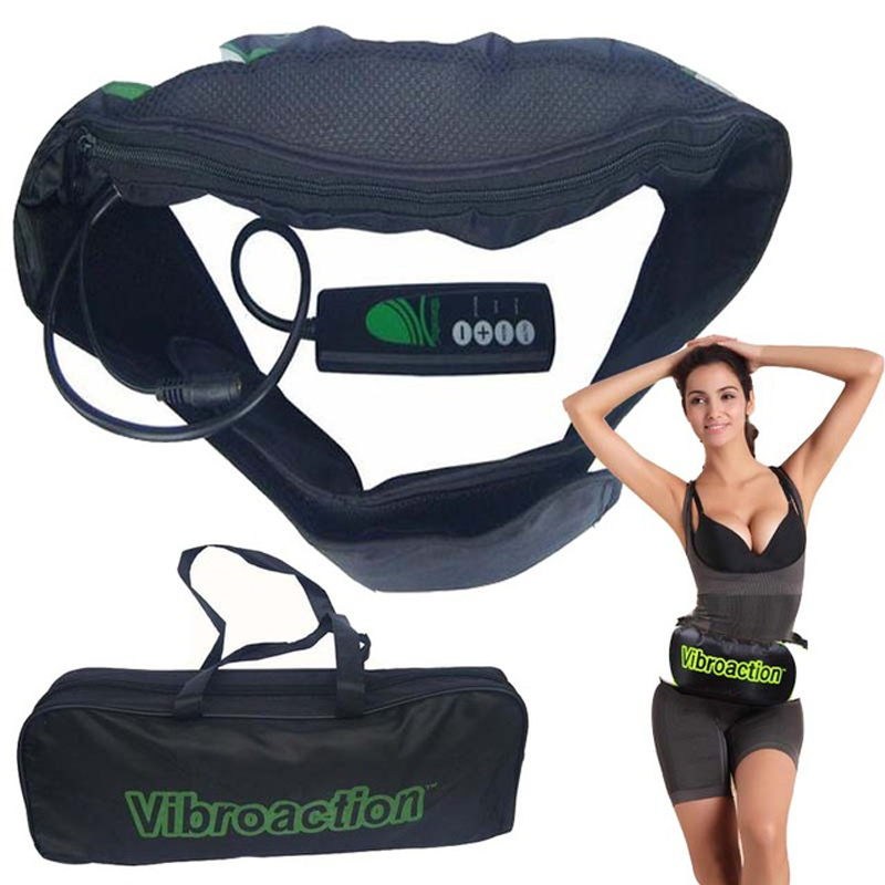 Electric Slimming Massager Belt Vibrating Fat Burning Weight Loss Massager Belt Vibration Massager Slimming Belt Massage Waist<br>