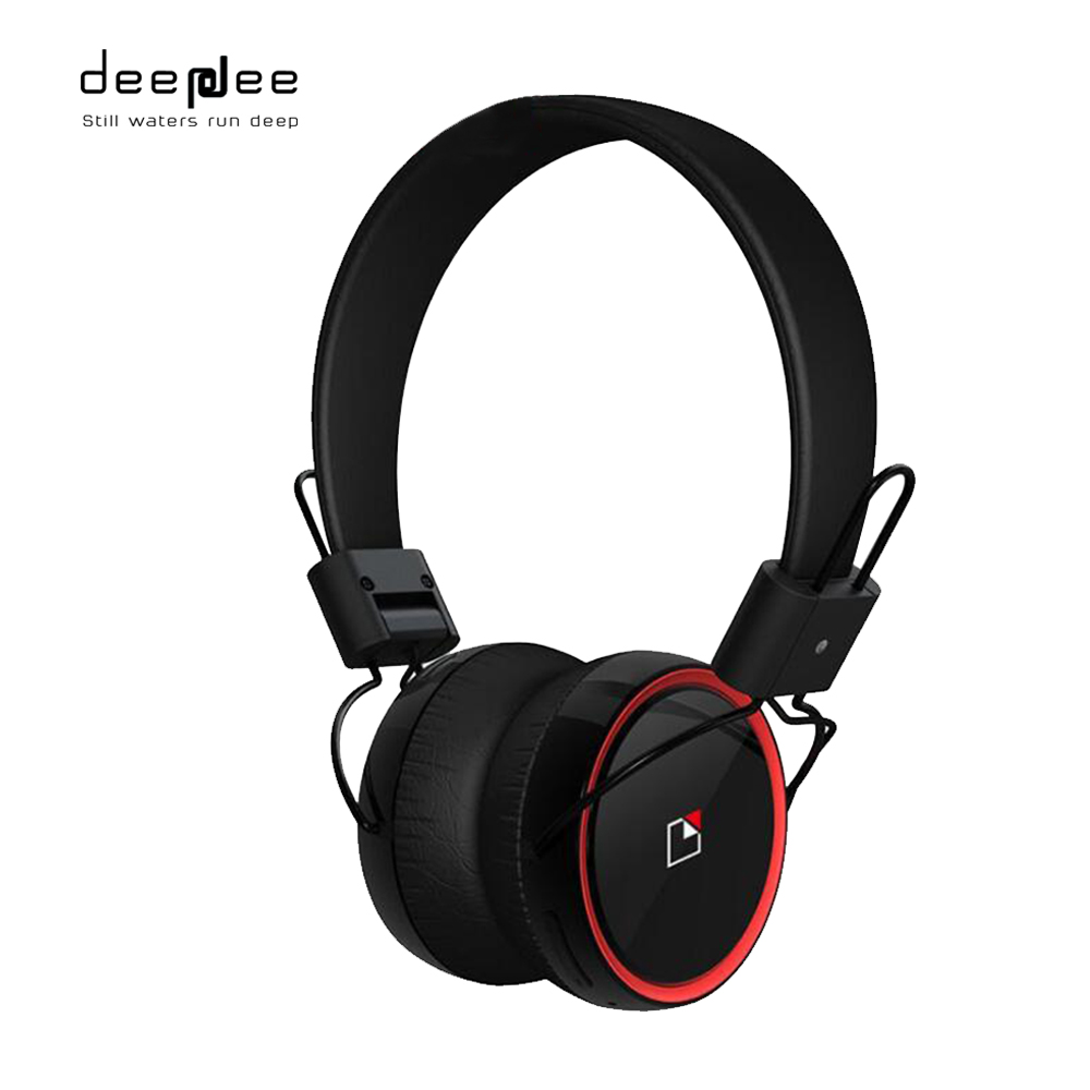 DEEPDEE Wireless Bluetooth Headphone Stereo Music Headset With HIFI Microphone Multi-Touch Control NFC Pairing For Mobilephone<br>