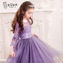 Child princess dress wedding party for 6 7 8 9 10 11 12 13 14 15 16 years teenager girl brand new performance white tutu Dress