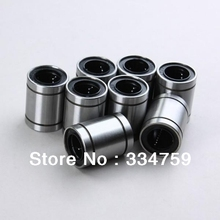 NEW 10 pcs LM6UU LB6UU Linear Bearing 6x12x19 mm, 6mm Caliber Standard linear bearings(China)
