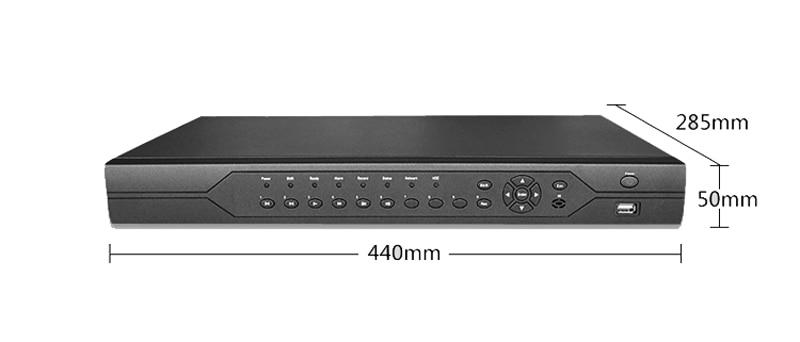 1080P,960P,720P,960H Surveillance Camera HI3531A 32CH 32 Channel 6 in 1 Coaxial Hybrid IP NVR CVI TVI AHD CCTV DVR size picture