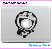 Doraemon Japanese Cartoon Animal Sticker for apple Macbook Skin Air 11 13 Pro 13 15 17 Retina Decal Laptop Car Wall Vinyl Case