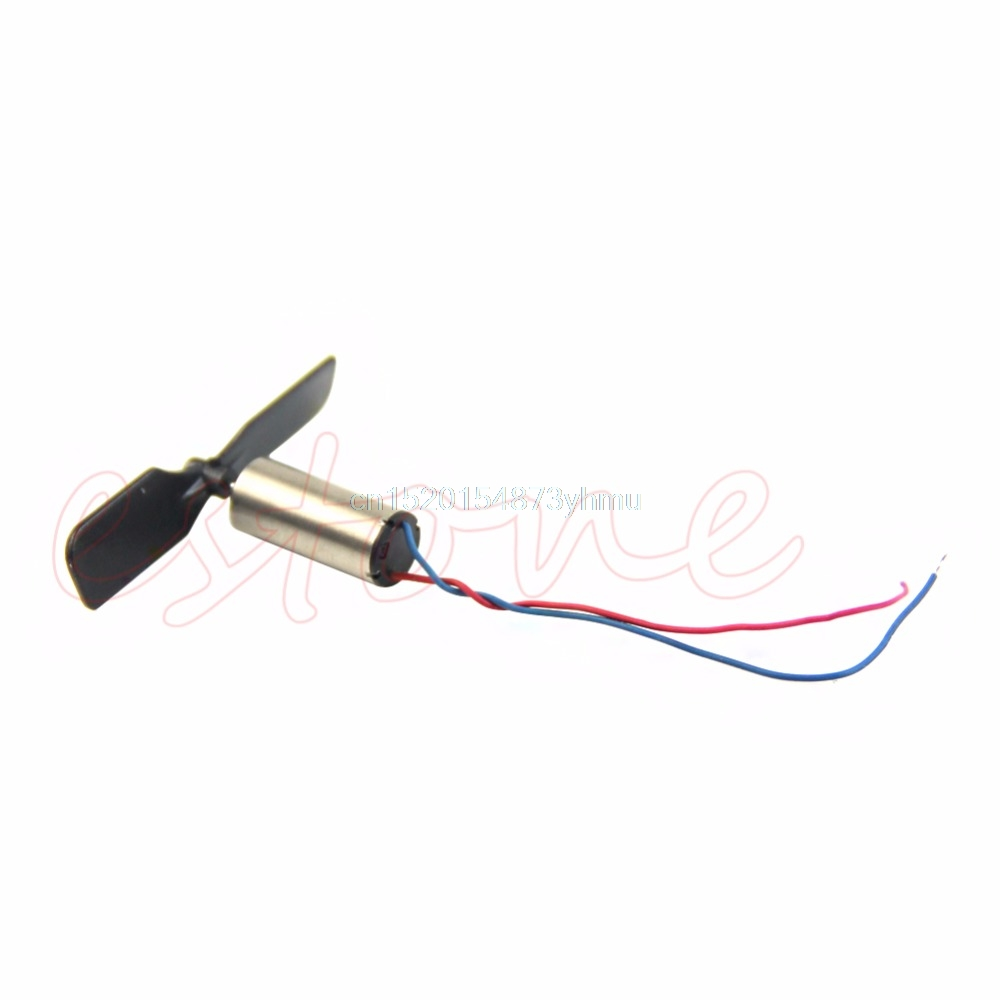 3.7V 48000RPM Coreless Motor + Propeller For RC Aircraft Helicopter Toy - L057 New hot
