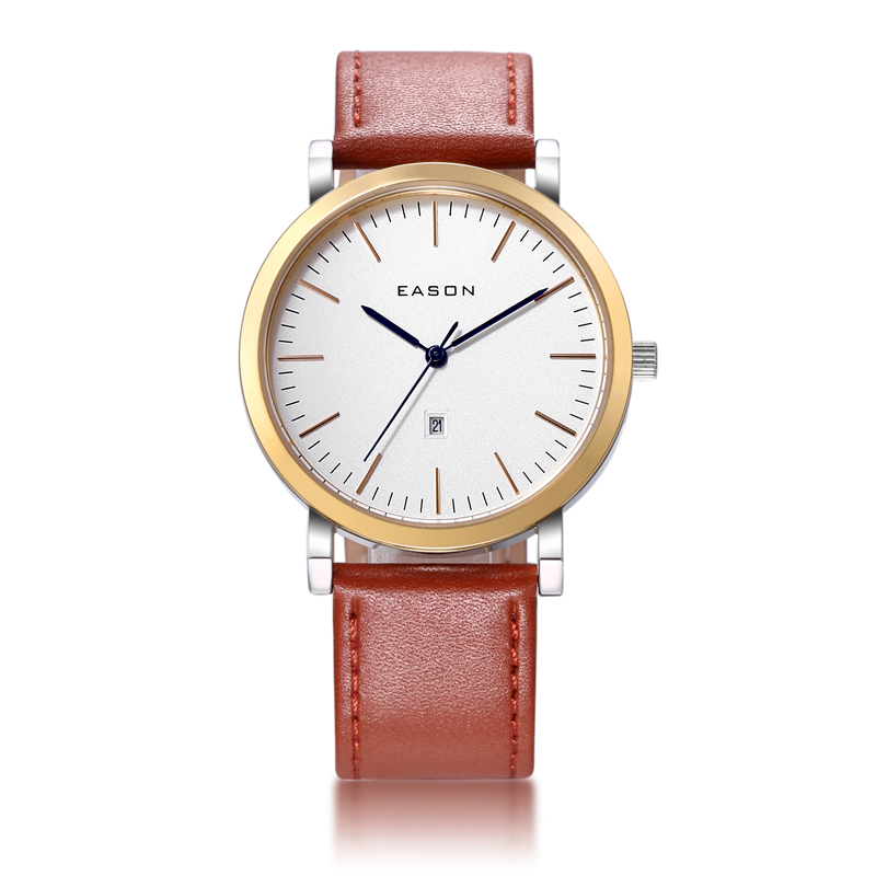 Lady Leather Watches Fashion Wristwatch Waterproof Stainless Steel Casual Male Clock Desgin Military Quartz Women Sport Watch