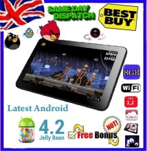 "Free shipping gift android tablet pc 9"" inch Google LATEST ANDROID 4.2 Dual camera Allwinner A13 Tablet PC 8GB Wi-Fi(China)"