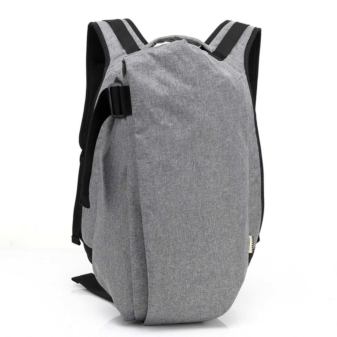 ARESLAND Male Backpack School Men Big Capacity Oxford Creative Leisure Travel Backpacks School Bag With USB Charging Port Black<br>
