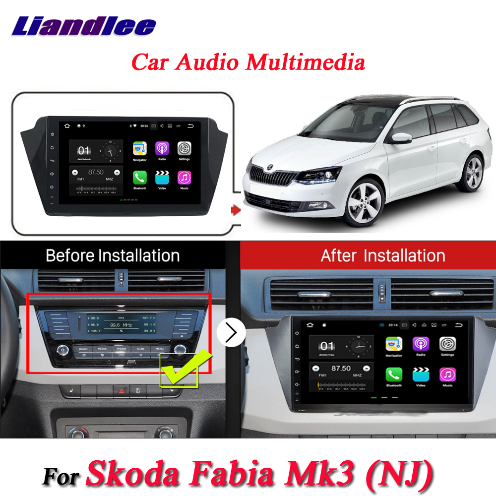 For Skoda Fabia Mk3 2015~2018-3