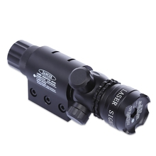 8808 20MM Pistol Weaver Picatinny Rail Tactical Red Dot Laser Sight Scope with Mounts(China)