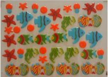 Sea animals fish Transfer food chocolate chocolate transfer paper transfer sheet birthday cake baking mold