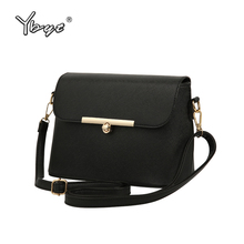 Buy YBYT brand 2018 new fashion casual handbags women flap luxury PU leather clutches ladies small shoulder messenger crossbody bags for $13.71 in AliExpress store