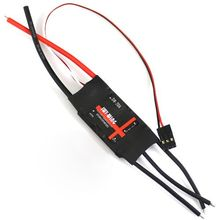 SkyWing 20A ESC 2A BEC 2-3S lipo motor Brushless speed controller for for Fixed-wing RC Airplane(China)