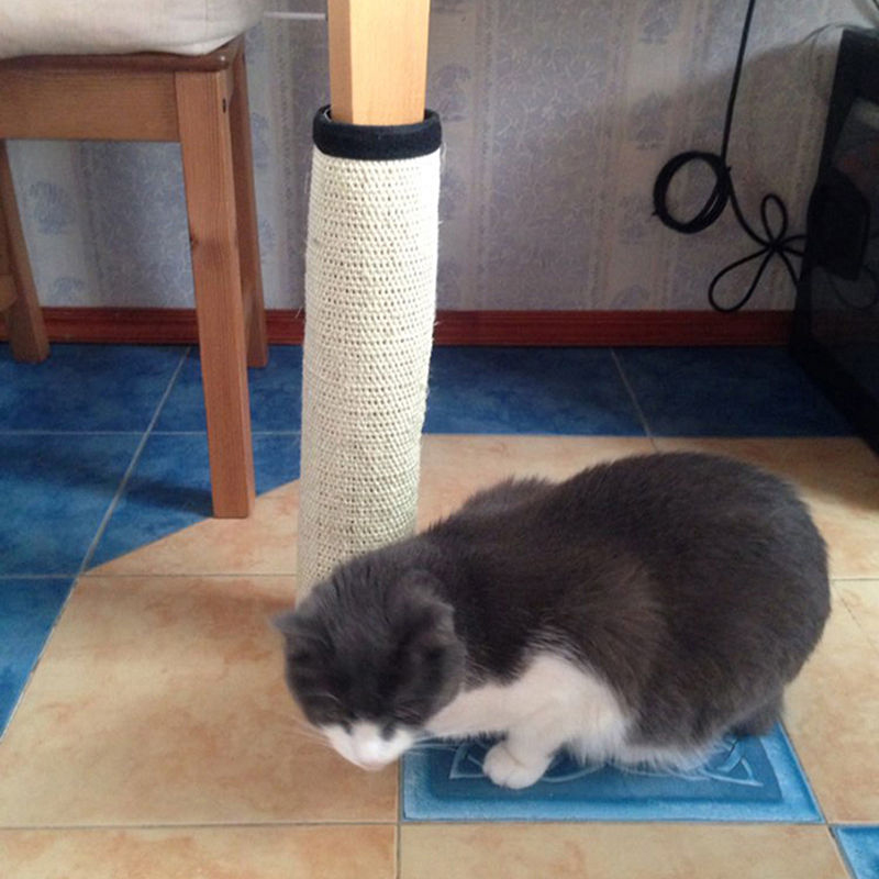 JX-LCLYL 40x30cm Durable Scratching Pad Mat for Pet Cat Board Bed Scratcher Post Pole Toy