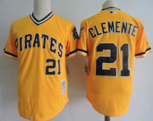 MLB Men's PITTSBURGH PIRATES Andrew McCutchen Roberto Clemente jerseys(China)