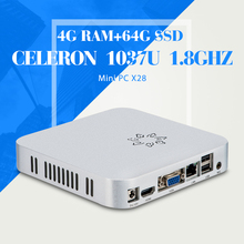 C1037U 4G RAM 64G SSD computer table laptop computer lowest price thin client tablet cheap mini pc oem/odm support hd video(China)