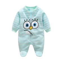 Buy Baby Rompers Spring Baby Boy Clothes Roupas Bebe Infant Baby Jumpsuits Baby Girl Clothing Fleece Newborn Clothes Kids Costume for $6.03 in AliExpress store