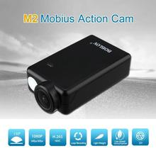 BOBLOV Best Deal Mobius 2 ActionCam 1080P 130 Degree Wide Angle Mini Sports Camera FPV DashCam H.265 HEVC H.264 AVC(China)