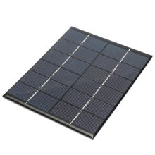 Hot Universal 6V 2W 330mAh Solar Panel DIY Solar Module For Light Battery Batteries Cells Phones Charger Portable 110x136x3mm