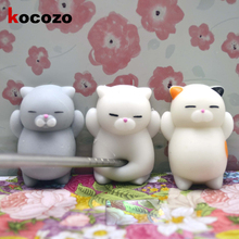 Mini Squishy Cat Seal Rabbit Cute New Arrival Slow Rising Soft Press Squeeze Kawaii Bread Cake Kids Toy Fashion DIY Accessories