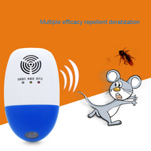 US Plug Ultrasonic Mosquito Repeller Mosquito Insect Rat Mouse Pest Reject for Home Garden Hot Sale(China)