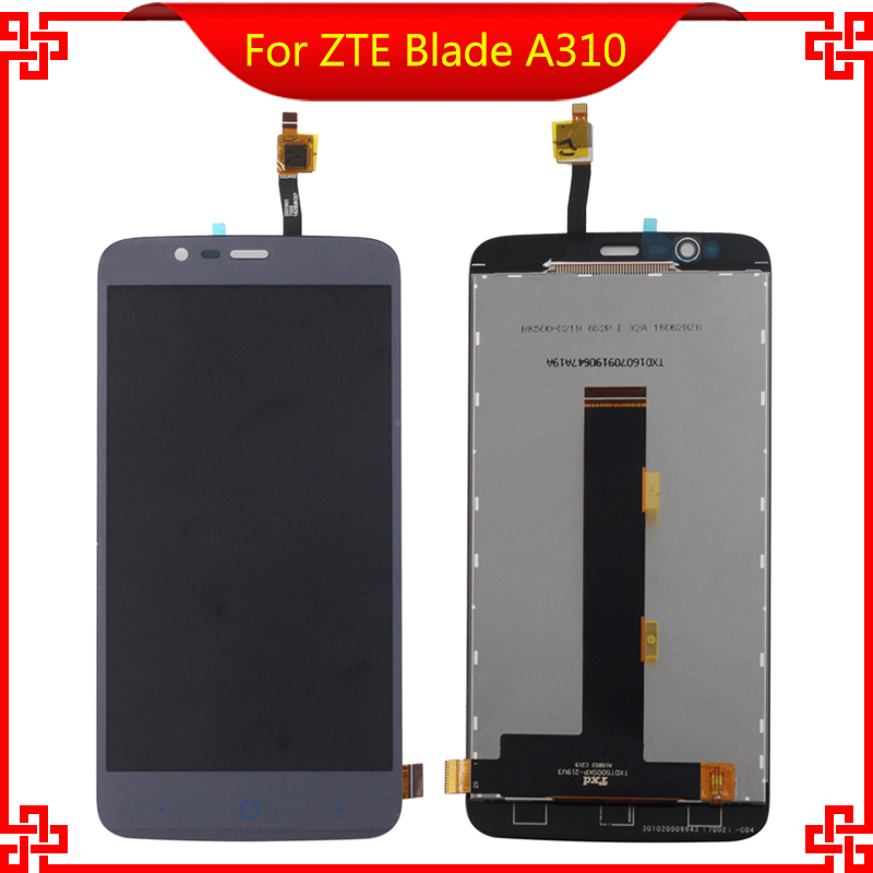 For ZTE Blade A310 LCD Display Touch Screen 100% Original Screen Digitizer Assembly Replacement Mobile Phone LCDs<br><br>Aliexpress