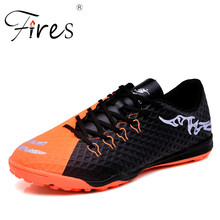 Fires Men Outdoor Soccer Shoes Hot Selling Football Shoes Athletic Sport Shoes Male Breathable Training Soccer Shoes Zapatillas(China)
