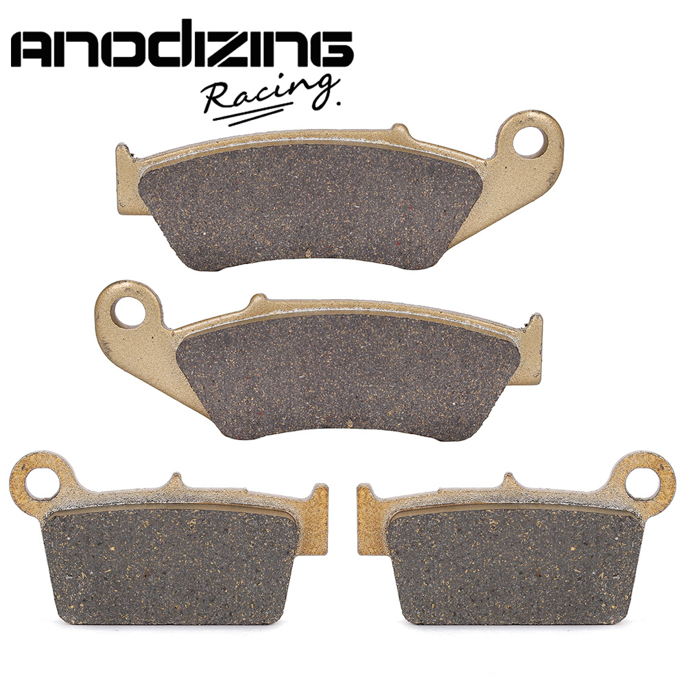 Motorcycle Front and Rear Brake Pads For YAMAHA YZ125 YZ250 YZ450 03-07 YZ250F 03-06 WR250 WR400 WR426 WR250 2003-2013<br>