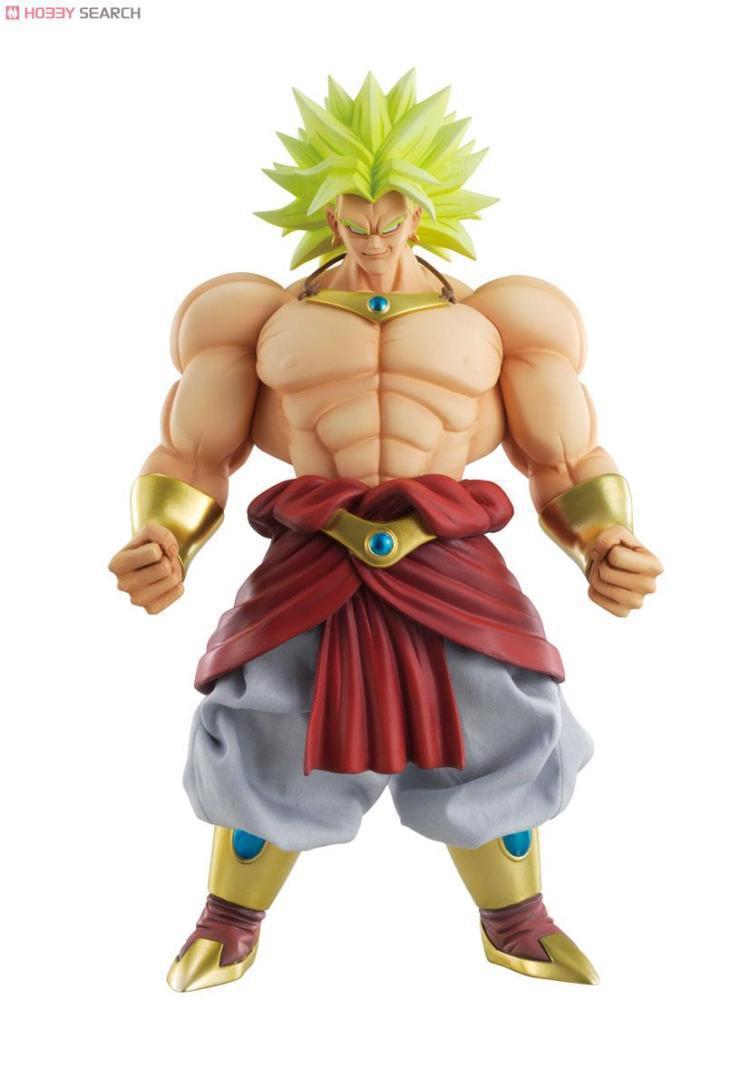 Huong Anime Dragon Ball 25CM Dimension of Dragon Ball Z Super Saiyan Broly PVC Action Figure Brinquedos Collectible Model Toy <br>
