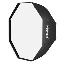 Neewer Octagonal Speedlite, Studio Flash, Speedlight Umbrella Softbox with Bag for Portrait or Product Photography(China)