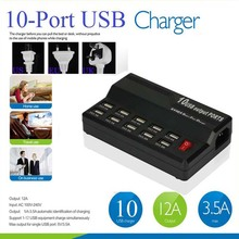 smart multi-port usb wall charger 10 Ports Wall USB fast Charger Home Travel Power Adapter for iPhone iPad iPod iTouch Samsung